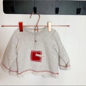 Coccoli La Mer Sweatshirt Sweatpant Outfit 1m 0-3m